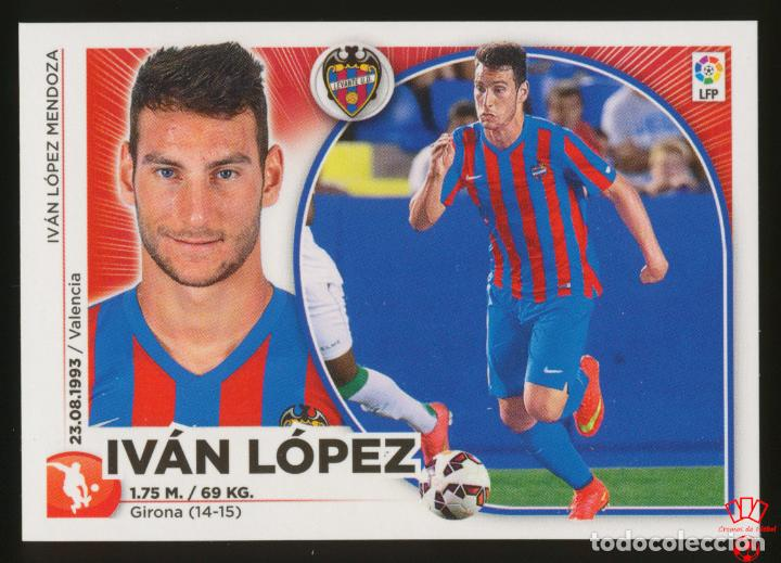 #25. IVAN LOPEZ (MERCADO INVIERNO) - LEVANTE UD 2014/2015 - LIGA ESTE PANINI CROMO/STICKER 14/15 (Coleccionismo Deportivo - Álbumes y Cromos de Deportes - Cromos de Fútbol)