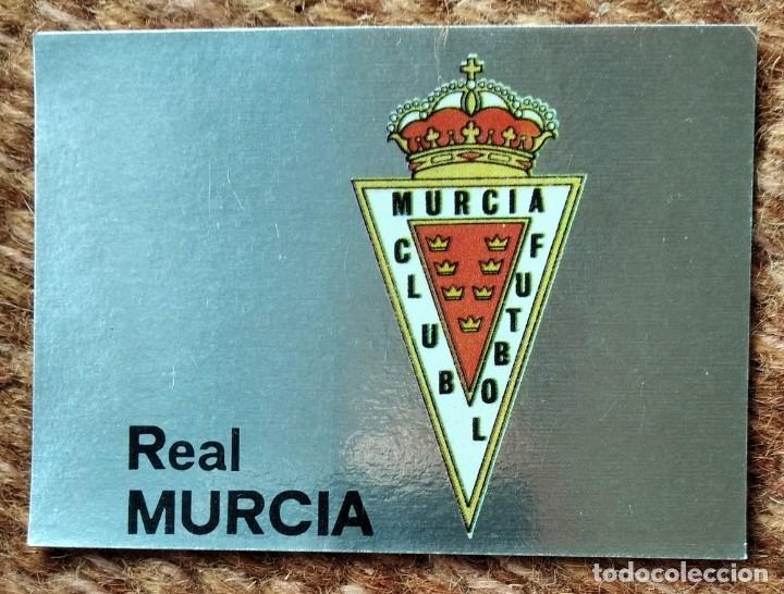 REAL MURCIA - Nº 216 ESCUDO - EDITORIAL MAGA 1983-1984 (Coleccionismo Deportivo - Álbumes y Cromos de Deportes - Cromos de Fútbol)