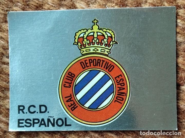 ESPAÑOL - Nº 105 ESCUDO - EDITORIAL MAGA 1983-1984 (Coleccionismo Deportivo - Álbumes y Cromos de Deportes - Cromos de Fútbol)