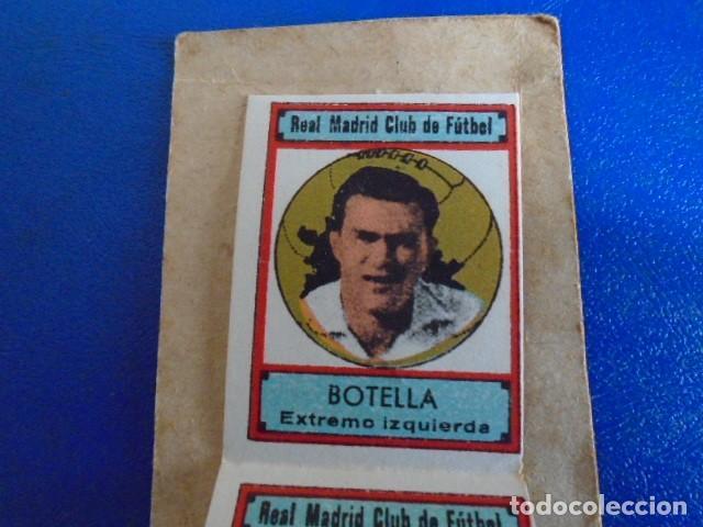 Cromos de Fútbol: (F-210400J)LOTE DE 11 CROMOS SOBRE BALON 1942-43 - REAL MADRID CLUB DE FUTBOL - REVERSO - Foto 2 - 253442475