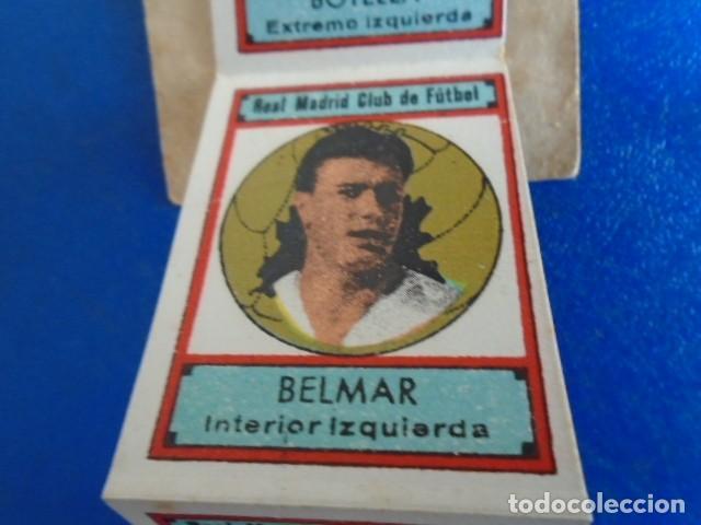 Cromos de Fútbol: (F-210400J)LOTE DE 11 CROMOS SOBRE BALON 1942-43 - REAL MADRID CLUB DE FUTBOL - REVERSO - Foto 3 - 253442475