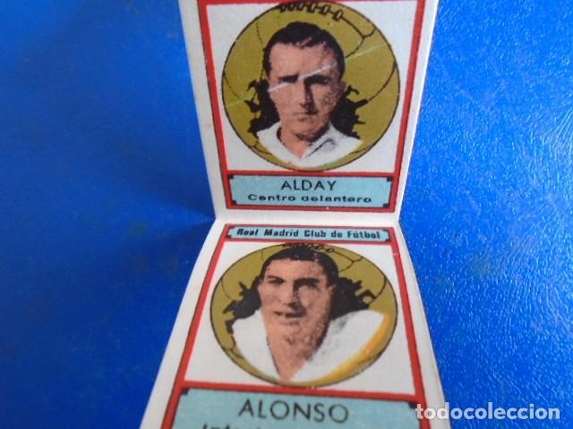 Cromos de Fútbol: (F-210400J)LOTE DE 11 CROMOS SOBRE BALON 1942-43 - REAL MADRID CLUB DE FUTBOL - REVERSO - Foto 4 - 253442475