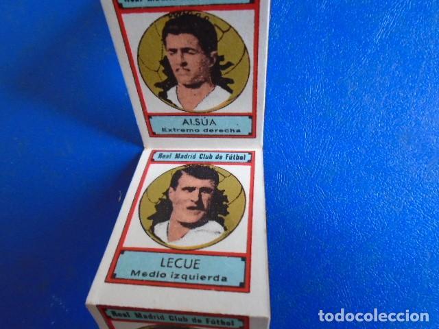 Cromos de Fútbol: (F-210400J)LOTE DE 11 CROMOS SOBRE BALON 1942-43 - REAL MADRID CLUB DE FUTBOL - REVERSO - Foto 5 - 253442475