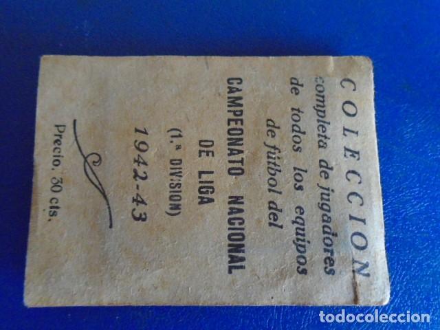 Cromos de Fútbol: (F-210400J)LOTE DE 11 CROMOS SOBRE BALON 1942-43 - REAL MADRID CLUB DE FUTBOL - REVERSO - Foto 8 - 253442475