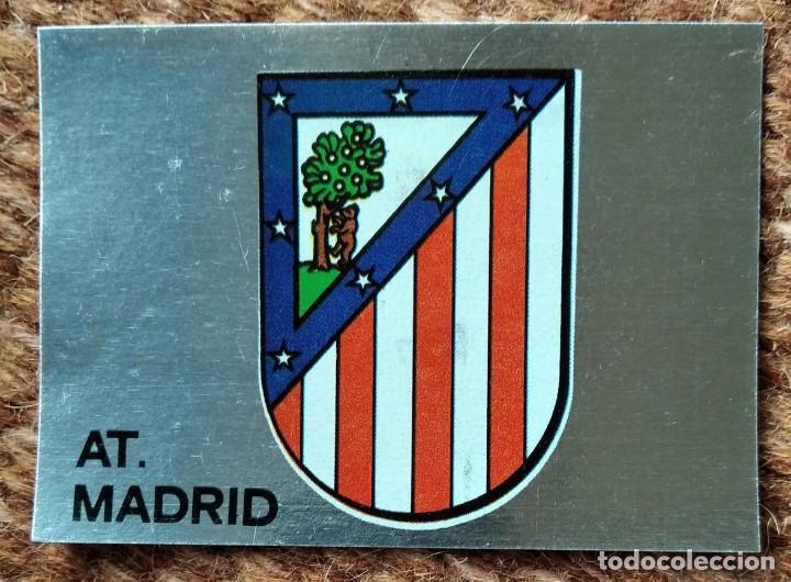 ATLETICO DE MADRID - Nº 27 ESCUDO - EDITORIAL MAGA 1983-1984 (Coleccionismo Deportivo - Álbumes y Cromos de Deportes - Cromos de Fútbol)