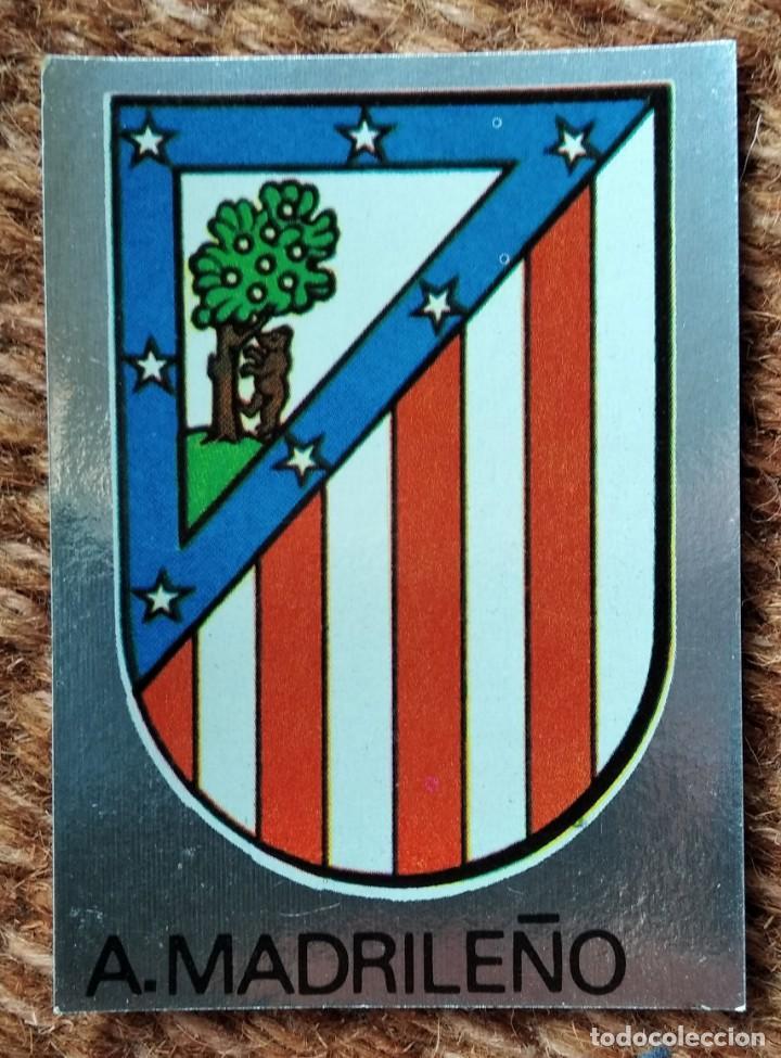 ATLETICO MADRILEÑO - Nº 132 ESCUDO - EDITORIAL MAGA 1983-1984 (Coleccionismo Deportivo - Álbumes y Cromos de Deportes - Cromos de Fútbol)