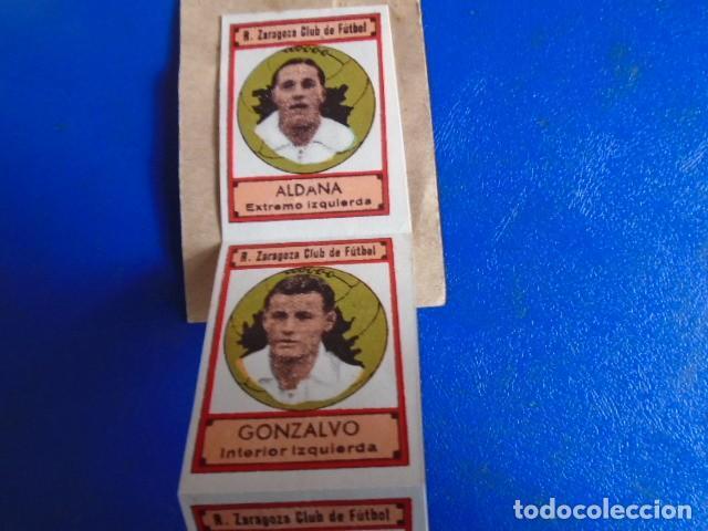 Cromos de Fútbol: (F-210400K)LOTE DE 11 CROMOS SOBRE BALON 1942-43 - R.C.D.ZARAGOZA - PORTADAS - Foto 2 - 253443030