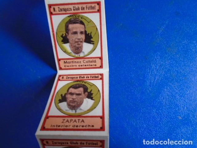Cromos de Fútbol: (F-210400K)LOTE DE 11 CROMOS SOBRE BALON 1942-43 - R.C.D.ZARAGOZA - PORTADAS - Foto 3 - 253443030