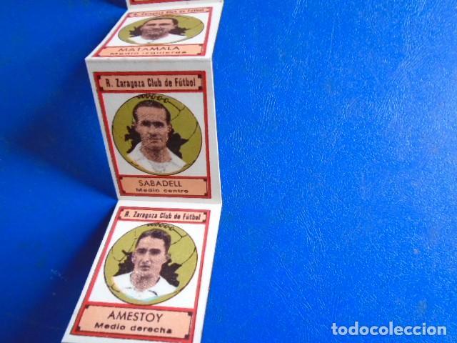 Cromos de Fútbol: (F-210400K)LOTE DE 11 CROMOS SOBRE BALON 1942-43 - R.C.D.ZARAGOZA - PORTADAS - Foto 5 - 253443030