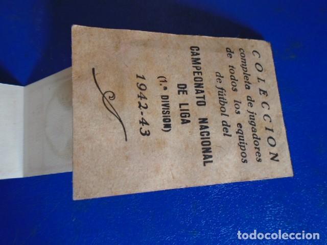 Cromos de Fútbol: (F-210400K)LOTE DE 11 CROMOS SOBRE BALON 1942-43 - R.C.D.ZARAGOZA - PORTADAS - Foto 8 - 253443030