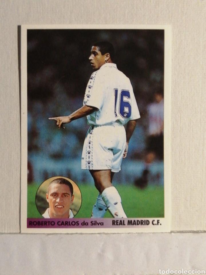 ROOKIE ROBERTO CARLOS LOS MEJORES EQUIPOS DE EUROPA 96/97 (Coleccionismo Deportivo - Álbumes y Cromos de Deportes - Cromos de Fútbol)