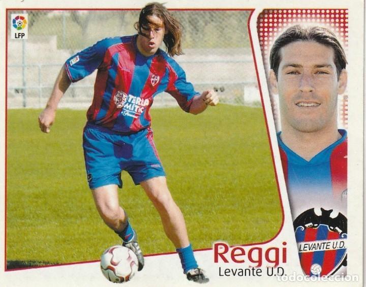 REGGI DEL LEVANTE 2004 2005 ED.ESTE. SIN PEGAR. (Coleccionismo Deportivo - Álbumes y Cromos de Deportes - Cromos de Fútbol)
