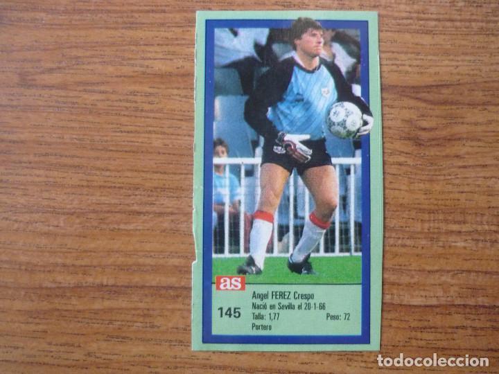 CROMO ASES DE LA LIGA 1989 1990 145 FEREZ (RAYO VALLECANO) SIN PEGAR ALBUM 89 90 DIARIO AS (Coleccionismo Deportivo - Álbumes y Cromos de Deportes - Cromos de Fútbol)