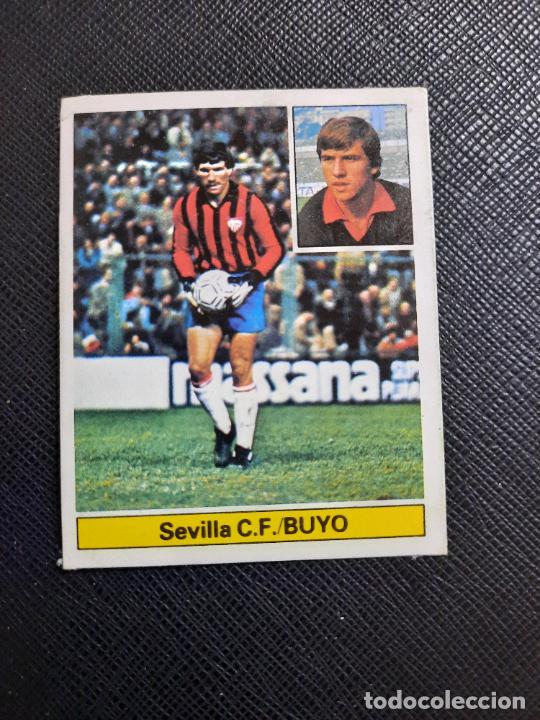 BUYO SEVILLA ED ESTE 1981 1982 CROMO FUTBOL LIGA 81 82 DESPEGADO - 1802 (Coleccionismo Deportivo - Álbumes y Cromos de Deportes - Cromos de Fútbol)