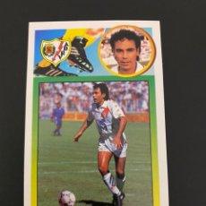 Cromos de Fútbol: HUGO SANCHEZ COLOCA 93 94 1993 1994 RAYO VALLECANO NUNCA PEGADO NUEVO ADHESIVO. Lote 253554685