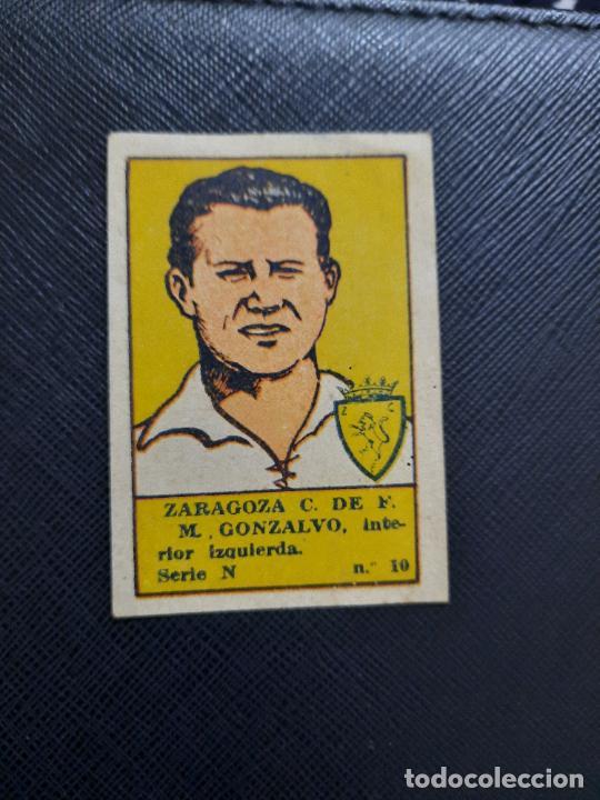 GONZALVO ZARAGOZA VALENCIANA 1941 1942 CROMO FUTBOL LIGA 41 42 - SIN PEGAR - A25 - 10 (Coleccionismo Deportivo - Álbumes y Cromos de Deportes - Cromos de Fútbol)