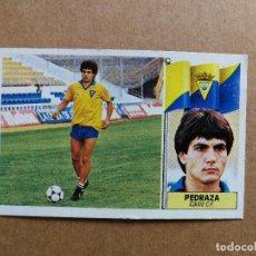 Cromos de Fútbol: MUY DIFÍCIL PEDRAZA CÁDIZ COLOCA ESTE 86 87 DESPEGADO VER FOTOS. Lote 253877540