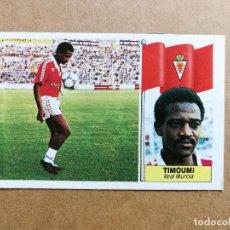 Cromos de Fútbol: EDICIONES ESTE 1986-1987 - TIMOUMI (MURCIA) - COLOCA - LIGA 86-87. RECUPERADO, VER FOTOS.. Lote 253877855