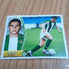Cromos de Futebol: JOAQUÍN -- BETIS -- 03/04 -- ESTE -- NUNCA PEGADO. Lote 253889155