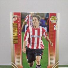 Cromos de Fútbol: MUNIAIN ROOKIE Nº 34 ATHLETIC BILBAO MEGACRACKS 2009 2010 - PANINI - ÁLBUM MEGA CRACKS MGK. Lote 253909995