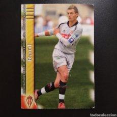 Cromos de Fútbol: CROMO - Nº 0356 - RAÚL - R. SPORTING - QUIZ GAME LIGA 2010 (2009 / 2010) - MUNDICROMO. Lote 253921155