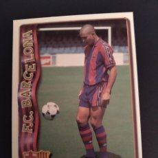 Cromos de Fútbol: MUNDICROMO 96/97,FC.BARCELONA, RONALDO ROOKIE.. Lote 253921895