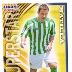 Cromos de Fútbol: CROMO - MUNDICROMO QUIZ GAME LIGA 2011 2012 - Nº 483 - MATILLA - REAL BETIS - LFP - SUPERSTAR. Lote 253922085