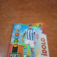 Cromos de Fútbol: PORTU #389 ÍDOLO REAL SOCIEDAD ADRENALYN 2020-2021. Lote 253963085