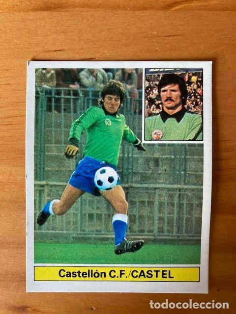 CASTEL CASTELLON ULTIMO FICHAJE Nº 12 81-82 ESTE RECUPERADO BUEN ESTADO (Coleccionismo Deportivo - Álbumes y Cromos de Deportes - Cromos de Fútbol)