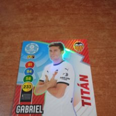 Cromos de Fútbol: GABRIEL #405 TITÁN ADRENALYN XL 2020-2021 VALENCIA FC. Lote 253976015