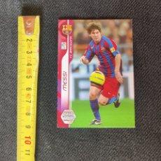 Cromos de Fútbol: MESSI MEGACRACKS 2006 2007. Lote 253989440