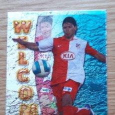 Cromos de Fútbol: AGUERO WELCOME ROOKIE CARD DEL ATLÉTICO. MUNDICROMO 06/07 2007. NUEVO. Lote 253992970