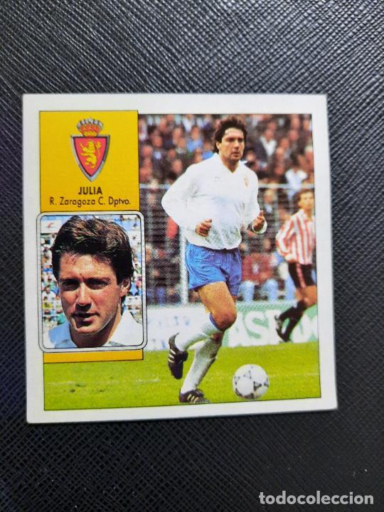 JULIO ZARAGOZA ESTE 1992 1993 CROMO LIGA FUTBOL 92 93 - A31 - DESPEGADO - PG109 (Coleccionismo Deportivo - Álbumes y Cromos de Deportes - Cromos de Fútbol)