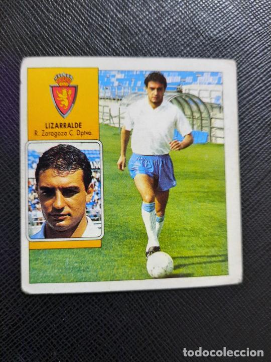 LIZARRALDE ZARAGOZA ESTE 1992 1993 CROMO LIGA FUTBOL 92 93 - A31 - DESPEGADO - PG109 (Coleccionismo Deportivo - Álbumes y Cromos de Deportes - Cromos de Fútbol)