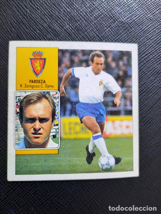 PARDEZA ZARAGOZA ESTE 1992 1993 CROMO LIGA FUTBOL 92 93 - A31 - DESPEGADO - PG109 (Coleccionismo Deportivo - Álbumes y Cromos de Deportes - Cromos de Fútbol)