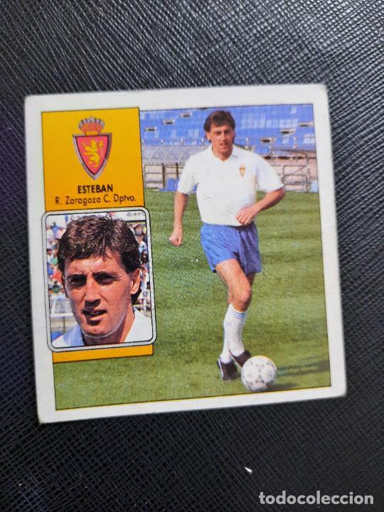 ESTEBAN ZARAGOZA ESTE 1992 1993 CROMO LIGA FUTBOL 92 93 - A31 - DESPEGADO - PG109 (Coleccionismo Deportivo - Álbumes y Cromos de Deportes - Cromos de Fútbol)