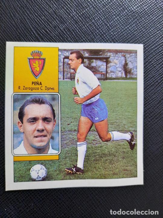 POYET ZARAGOZA ESTE 1992 1993 CROMO LIGA FUTBOL 92 93 - A31 - DESPEGADO - PG109 (Coleccionismo Deportivo - Álbumes y Cromos de Deportes - Cromos de Fútbol)