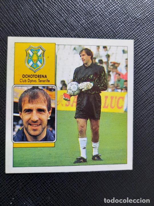 OCHOTORENA TENERIFE ESTE 1992 1993 CROMO LIGA FUTBOL 92 93 - A31 - DESPEGADO - PG109 FICHAJE 1 (Coleccionismo Deportivo - Álbumes y Cromos de Deportes - Cromos de Fútbol)