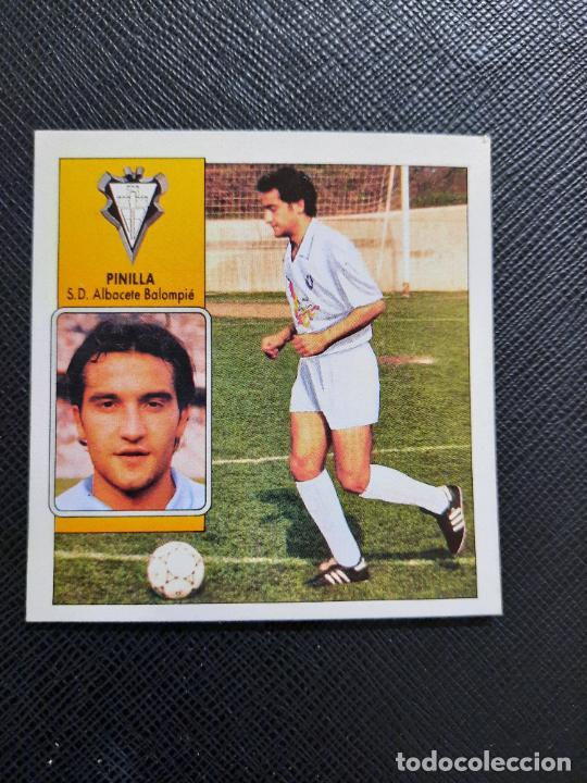 PINILLA ALBACETE ESTE 1992 1993 CROMO LIGA FUTBOL 92 93 - A31 - DESPEGADO - PG109 FICHAJE 2 (Coleccionismo Deportivo - Álbumes y Cromos de Deportes - Cromos de Fútbol)