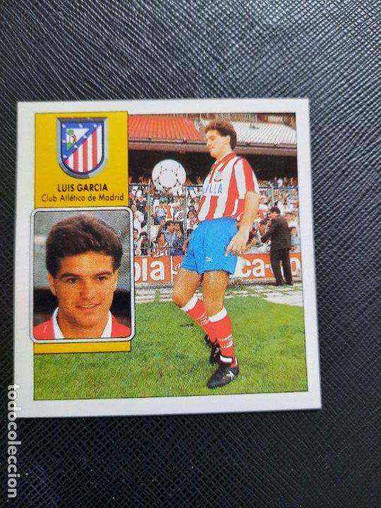 LUIS GARCIA AT MADRID ESTE 1992 1993 CROMO LIGA FUTBOL 92 93 - A31 - DESPEGADO - PG109 FICHAJE 5 (Coleccionismo Deportivo - Álbumes y Cromos de Deportes - Cromos de Fútbol)