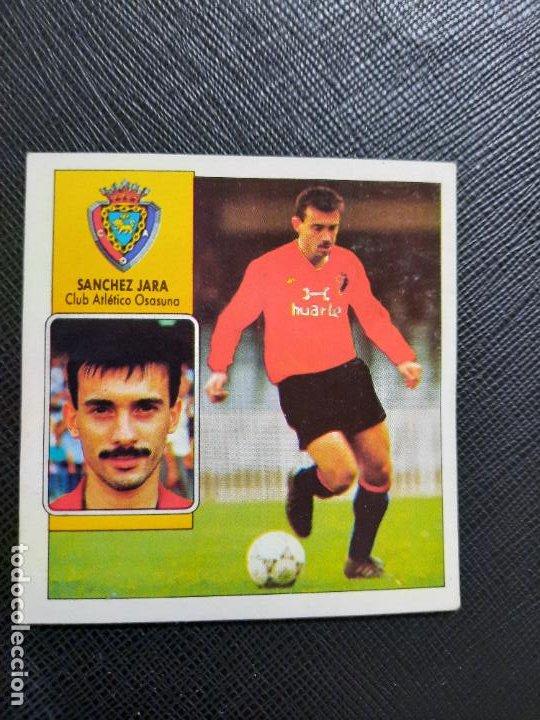 SANCHEZ JARA OSASUNA ESTE 1992 1993 CROMO LIGA FUTBOL 92 93 - A31 - DESPEGADO - PG109 FICHAJE 6 (Coleccionismo Deportivo - Álbumes y Cromos de Deportes - Cromos de Fútbol)