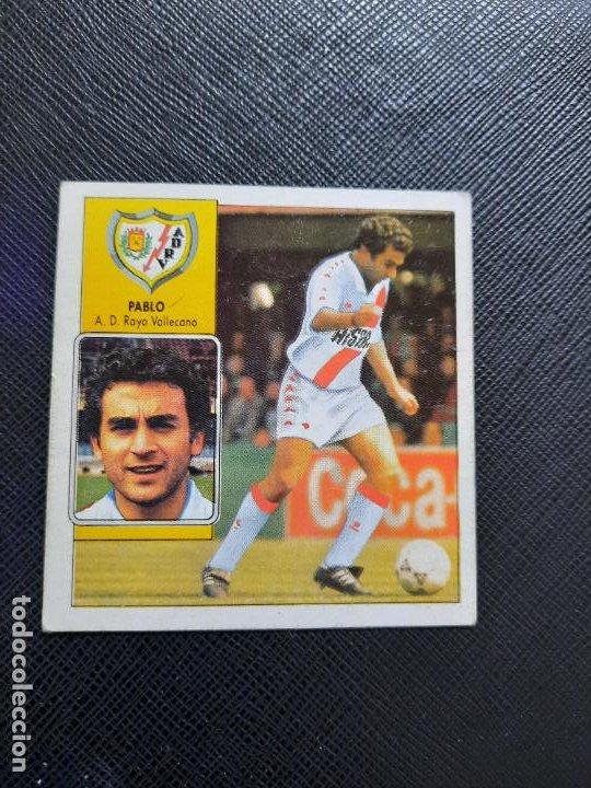PABLO RAYO VALLECANO ESTE 1992 1993 CROMO LIGA FUTBOL 92 93 - A31 - DESPEGADO - PG127 FICHAJE 7 (Coleccionismo Deportivo - Álbumes y Cromos de Deportes - Cromos de Fútbol)