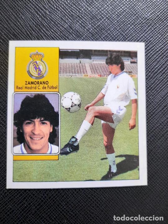 ZAMORANO REAL MADRID ESTE 1992 1993 CROMO LIGA FUTBOL 92 93 - A31 - DESPEGADO - PG127 FICHAJE 12 (Coleccionismo Deportivo - Álbumes y Cromos de Deportes - Cromos de Fútbol)
