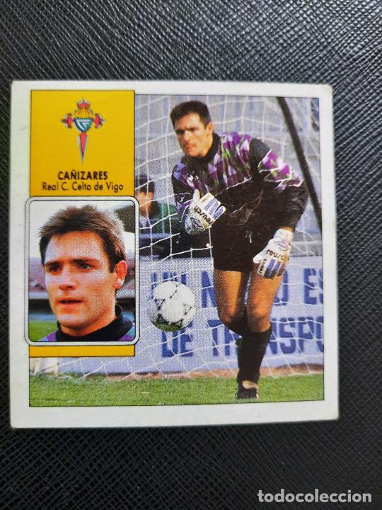 CAÑIZARES CELTA ESTE 1992 1993 CROMO LIGA FUTBOL 92 93 - A31 - DESPEGADO - PG127 FICHAJE 13 (Coleccionismo Deportivo - Álbumes y Cromos de Deportes - Cromos de Fútbol)