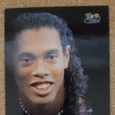 Cromos de Fútbol: RONALDINHO ROOKIE CARD.TOP 11-MUNDICROMO 03/04-2004 DEL BARCELONA. Lote 254039725