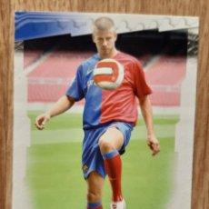 Cromos de Fútbol: PIQUE ROOKIE CARD DEL BARCELONA. NUEVO MUNDICROMO 08/09-2009. Lote 254041285
