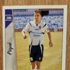 Cromos de Fútbol: PIQUE ROOKIE CARD DEL ZARAGOZA. NUEVO. MUNDICROMO 06/07 2007. Lote 254042795