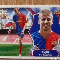 Cromos de Fútbol: PIQUE ROOKIE CARD DEL BARCELONA. NUEVO. ESTE 08/09 2008 2009. Lote 254046590