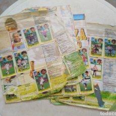 Cromos de Fútbol: LOTE DE 140 CROMOS APROX DE LA LIGA 93-94 ( DEFECTUOSO - PEGADAS ). Lote 254056120