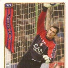 Cromos de Fútbol: 2004-2005 - 329 ELIA - CA OSASUNA - MUNDICROMO LAS FICHAS DE LA LIGA - 30. Lote 254078710